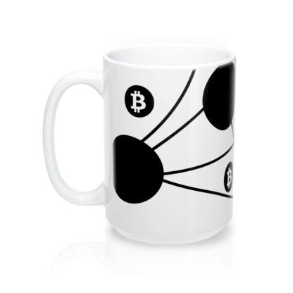 Bitcoin Nodes Designer Tea & Coffee Mug