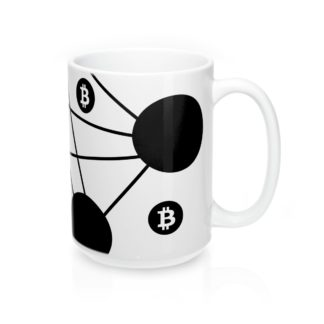 Bitcoin Nodes Designer Tea & Coffee Mug