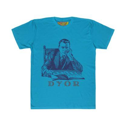 DYOR Designer Crypto Unisex Fitted T-Shirt