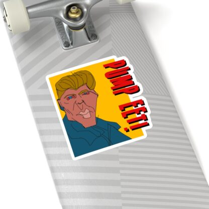 PUMP EET! Crypto Stickers