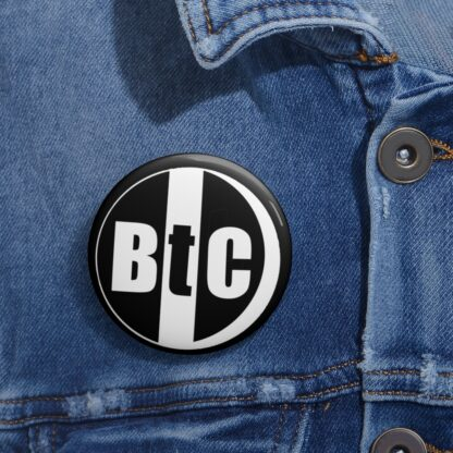 BtC Bitcoin Pin Button